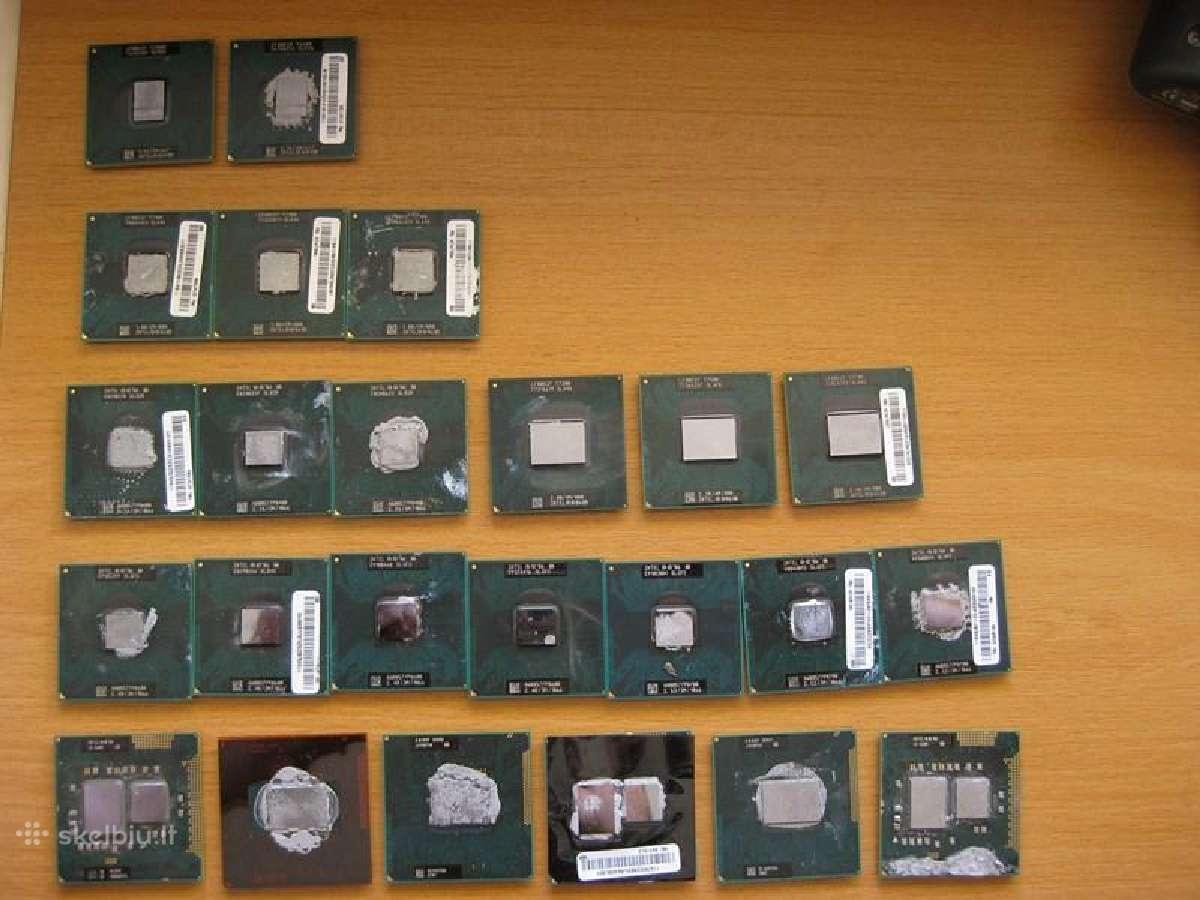Laptopiniai procesoriai i3-i5-i7