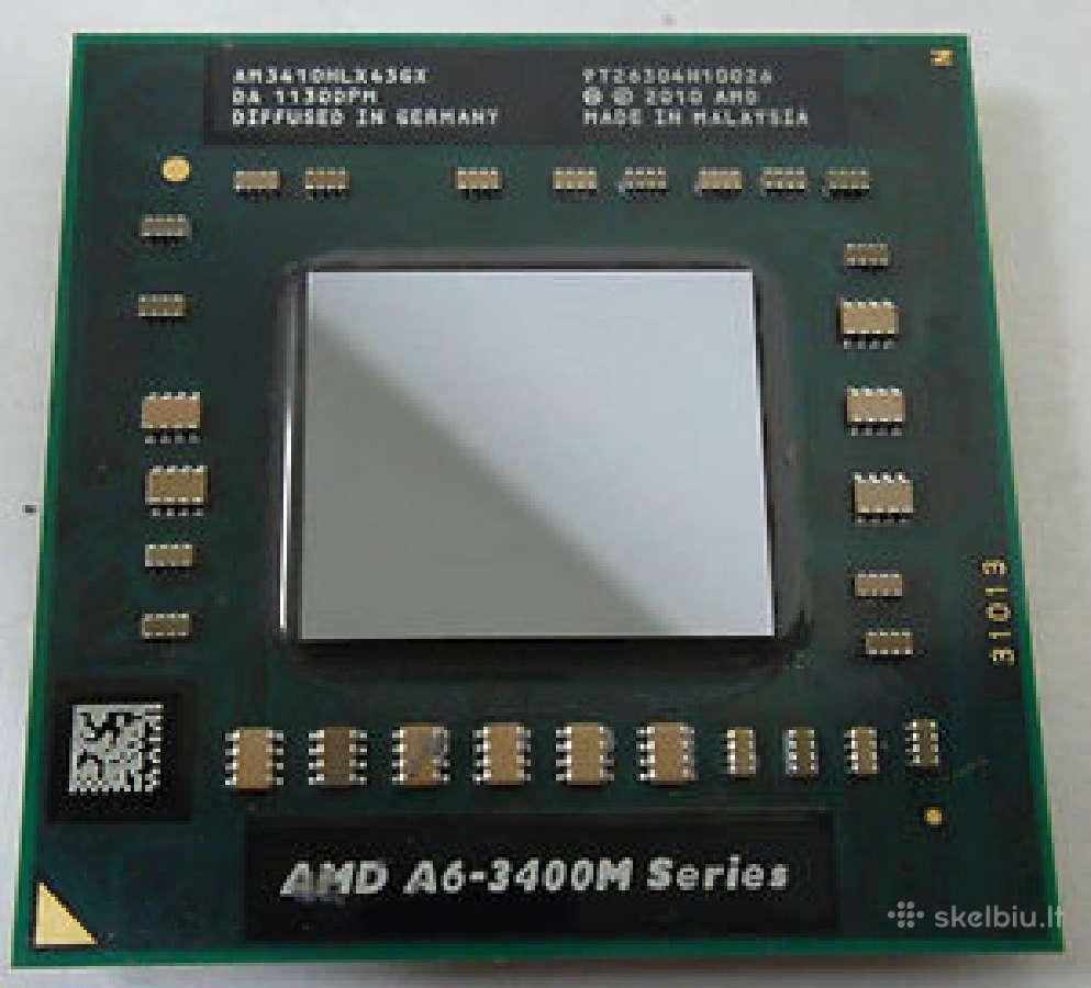 Nešiojamų Nb Cpu Amd A4, A6, A8, A10, E2 (Ok)