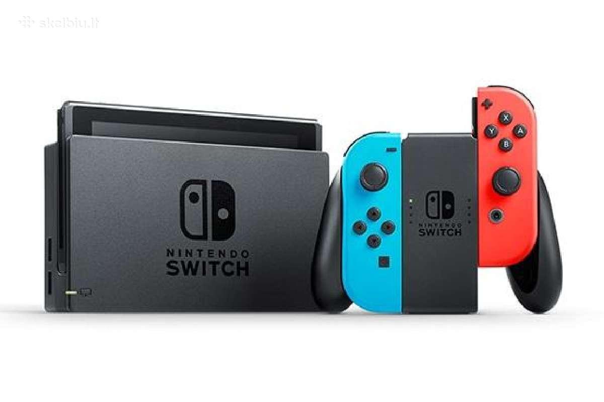 Perku naujus ir naudotus Switch