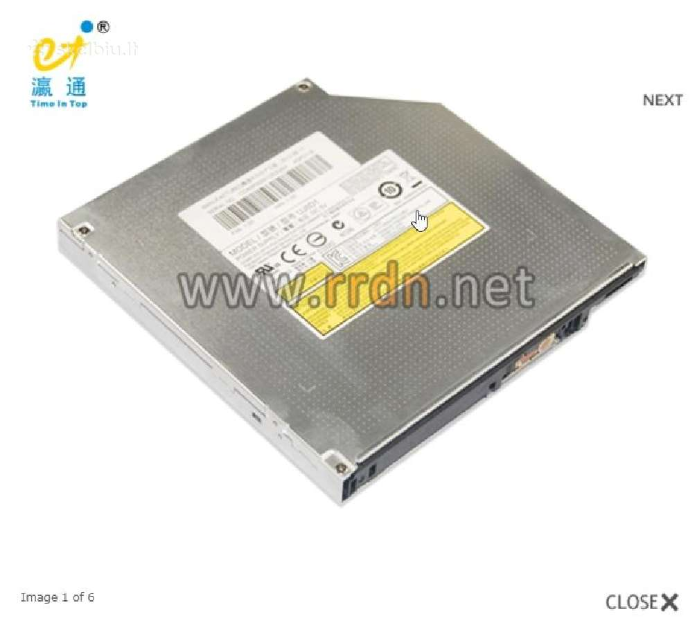 Dvd-rw CD-rom Uj8d1is Dell laptopo