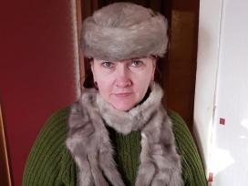 Kailine kepure su saliku - nuotraukos Nr. 4