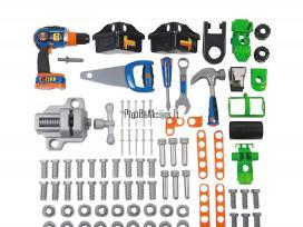 Vaikiškas ypač didelis darbastalis su įrankiais - nuotraukos Nr. 3