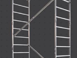 Aliuminis mobilus bokštelis - nuotraukos Nr. 4