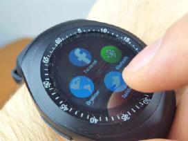 Išmanieji laikrodžiai Sim, GPS, Nauji Su Garantija - nuotraukos Nr. 5