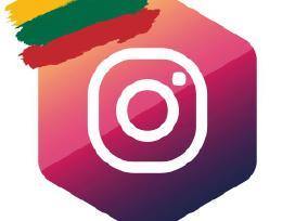 Instagram Lietuvos Sekėjai(130+atsiliepimų)