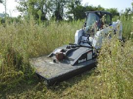 Bobcat rotorinė žoliapjovė - Brushcat - nuotraukos Nr. 2