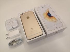 iPhone 6s -64 GB auksinis - Idealus su komplektu