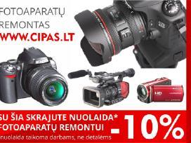 Visų Fotoaparatų ir Vaizdo Kamerų Remontas