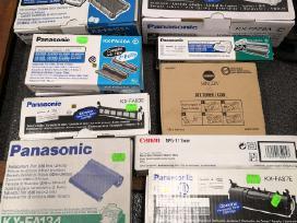 Panasonic terminės plevelės ir kartridžai, kasetės