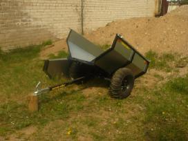 Sodo traktoriaus, keturracio ar motobloko priekaba - nuotraukos Nr. 2