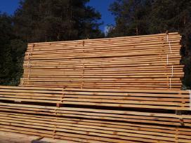 Kokybiška lietuviška mediena jūsų stogui
