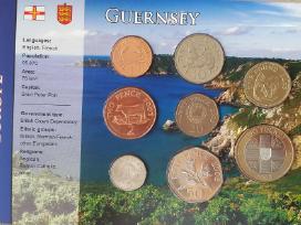 1 pensas- 2 svarai Guernsey
