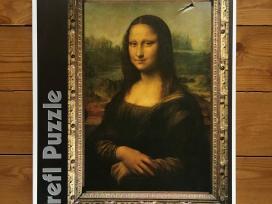 """""""Mona Liza"""" 1000 detalių delionė Trefl puzzle"""