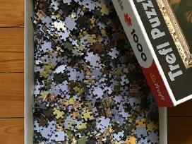 """""""Mona Liza"""" 1000 detalių delionė Trefl puzzle - nuotraukos Nr. 3"""
