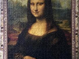 """""""Mona Liza"""" 1000 detalių delionė Trefl puzzle - nuotraukos Nr. 4"""