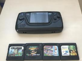 Sega Game Gear komplektas