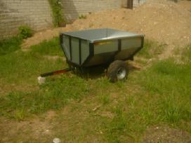 Sodo traktoriaus, keturracio ar motobloko priekaba - nuotraukos Nr. 4