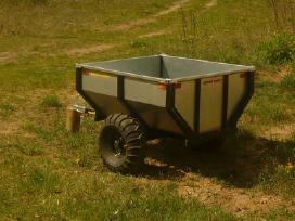 Sodo traktoriaus, keturracio ar motobloko priekaba - nuotraukos Nr. 3