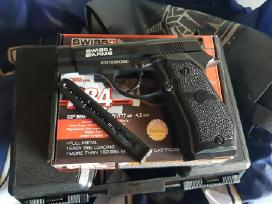 Airsoft Co2 pistoletas P84 full metal 4,5mm - nuotraukos Nr. 3