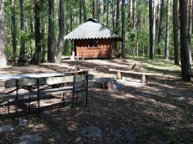 Poilsio namelis Dviems prie ezero