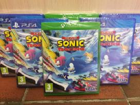 Naujas team sonic racing žaidimas xbox one ir ps4