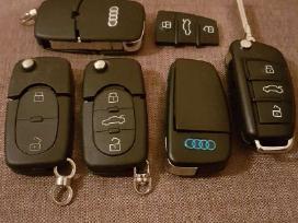 Audi raktas raktai pultelis rakto korpusas