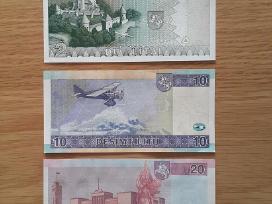 Unc (bankinio stovio) litai banknotai - nuotraukos Nr. 2
