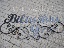 Dekoratyviniai gatvės pavadinimai - nuotraukos Nr. 2