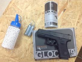 Galingiausias airsoft pistoletas Glock 19 - 140 ms
