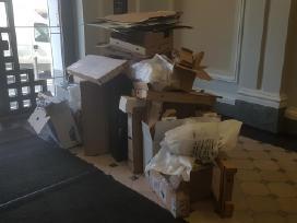 Šiukšlių išvežimas, atliekų tvarkymas