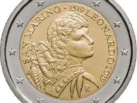 2 eurų San Marino Unc proginės monetos