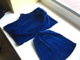 Veliūrinės kepuraitės bei šalikai - nuotraukos Nr. 2