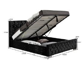 Nauja lova su patalynės dėže - nuotraukos Nr. 2