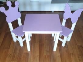 Vaikiškos kėdutės su staliuku - nuotraukos Nr. 3
