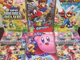 Didelis Nintendo Switch žaidimų pasirinkimas