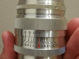 Jupiter-9 85mm f2 silver M39 Ltm 1962