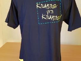 Marškinėliai su lietuv. užrašais tautine simbolika