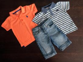 Marškinėliai ir džinsiniai šortai 92/98cm 3 vnt. - nuotraukos Nr. 2