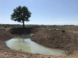 Tvenkinių kasimas - žemių lyginimas