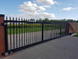 Kiemo vartai, varteliai, tvoros, automatika - nuotraukos Nr. 4