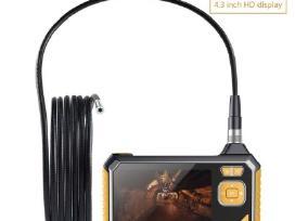 Endoskopine kamera su LCD ekranu įrašinėjanti