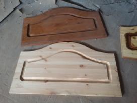 Vienguliu lovu galai,apvalus stalai - nuotraukos Nr. 4