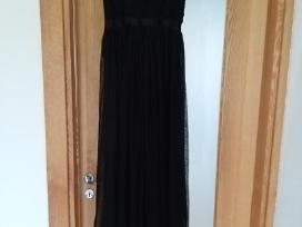 Proginė juoda-ilga Itališka suknelė - nuotraukos Nr. 3