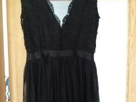 Proginė juoda-ilga Itališka suknelė - nuotraukos Nr. 4