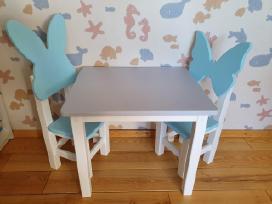 Vaikiškos kėdutės su staliuku - nuotraukos Nr. 2