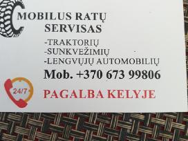 Mobilus ratų servisas