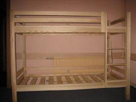 2-jų aukštų uosinės lovos - nuotraukos Nr. 2