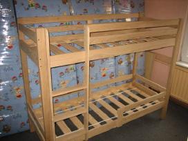 2-jų aukštų uosinės lovos - nuotraukos Nr. 3