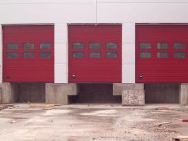 Akcija. pramoniniai pakeliami garažo vartai - nuotraukos Nr. 2