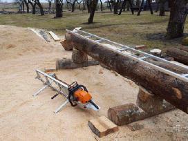Mobilus medienos pjovimo gateriukas, stakles - nuotraukos Nr. 2